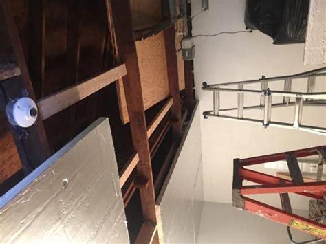 garage ceiling  insulation rigid foam board install  pictures doityourselfcom