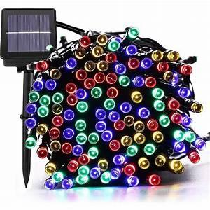 10 20 50m led solar lichterkette weihnachten With whirlpool garten mit außenbeleuchtung balkon weihnachten