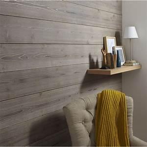 Lambris Plafond Leroy Merlin : lambris epic a bross taupe x cm mm ~ Melissatoandfro.com Idées de Décoration