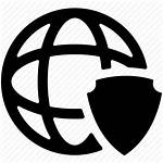 Internet Security Icon Network Protection Vpn Web
