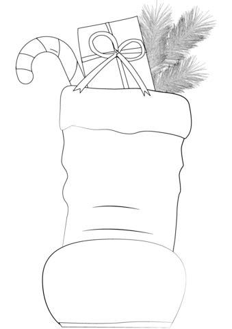 santa claus boots coloring page  printable coloring