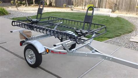kayak rack for trailer malone microsport trailer