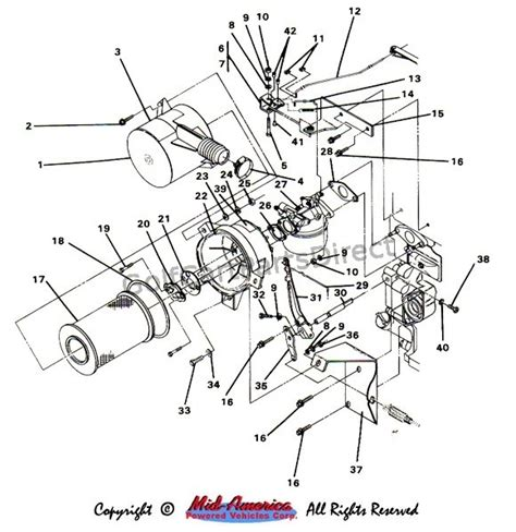 Club Car Manual Wire Diagram by 1984 1991 Club Car Ds Gas Club Car Parts Accessories