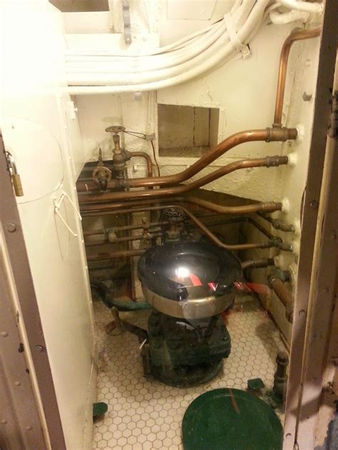 pampanito ss  submarine bathroom review