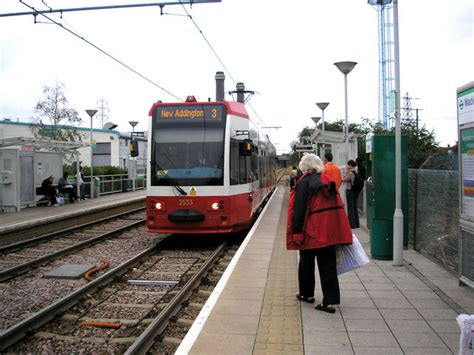 Waddon Marsh Tram Stop Dr Neil Clifton Geograph