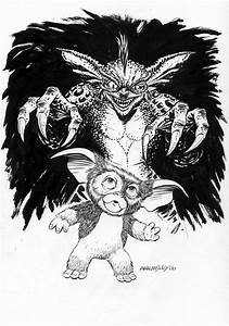 gremlin coloring pages