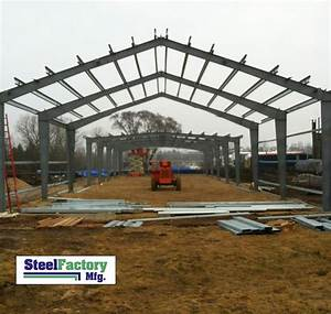 I Beam Steel Building Pictures By Steel Factory Mfg