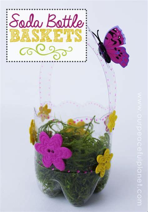 plastic bottle diy easter baskets kids crafts easter