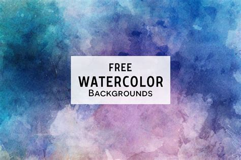 3 Free Watercolor Textured Backgrounds ~ Creativetacos