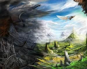 Wallpaper Tadka: Fantasy World Wallpaper