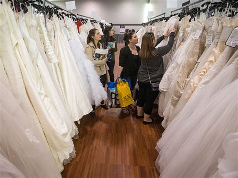 something old brides turn to second hand decor dresses