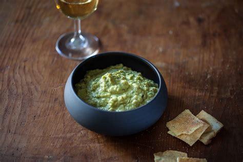 cuisiner du potimarron houmous de petits pois au citron vert et aneth