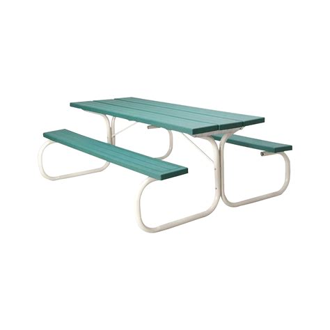 steel picnic table frame leisure time commercial injection molded picnic table with