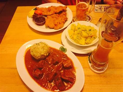salm cuisine authentic austrian food picture of salm braeu vienna
