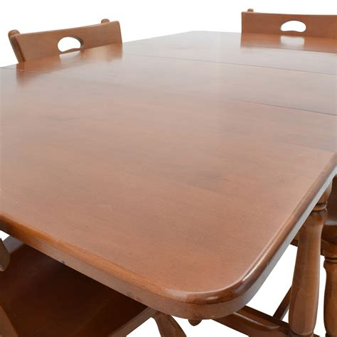 maple kitchen tables for sale 83 maple dining table with four matching chairs