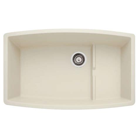 blanco composite kitchen sinks blanco performa undermount composite 20 in cascade 4775