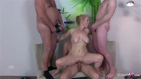 German Female Milf Doctor Kissi Kiss Group Sex At Check