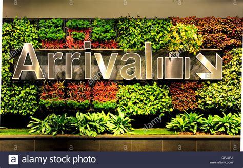 Singapore Vertical Garden by Singapore Changi International Airport Vertical Garden