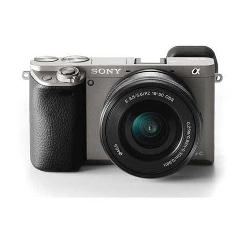 jual kamera sony a6000 kit 16 50mm graphite harga murah