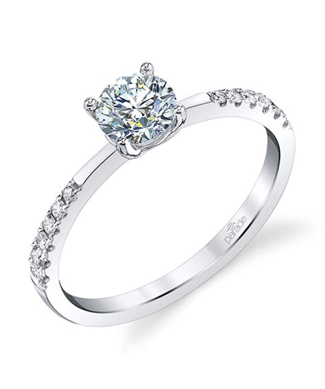 new classic bridal r4276 parade design designer engagement rings