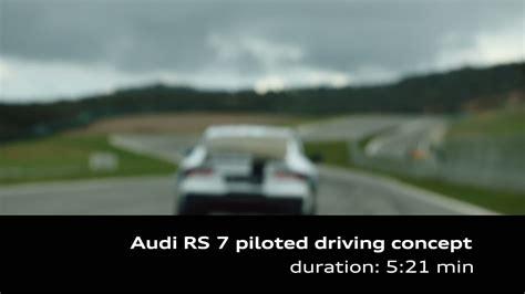 Audi Rs 7 Piloted Driving Concept Techniktrger 2018