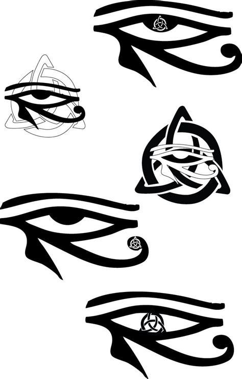 Options | Horus tattoo, Tattoo designs, Eye of horus