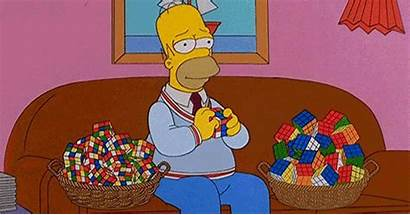 Homer Cube Simpson Rubik Rubiks Cubes Simpsons