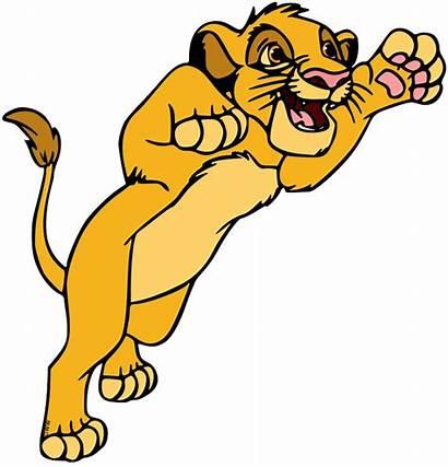 Simba Young Clipart Transparent Disney Pouncing Maritime
