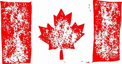 Flag Canada Grunge Transparent Onlygfx
