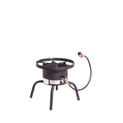 c chef steel single burner outdoor stove shprl the