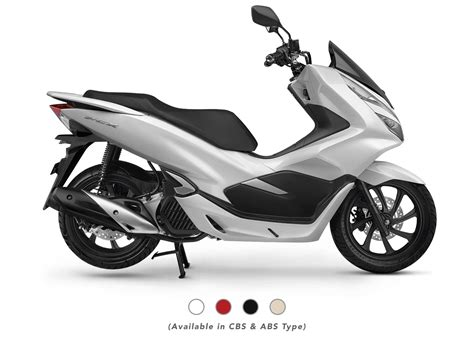 Pcx 2018 Kredit by 4 Pilihan Warna New Honda Pcx 150 Terbaru 2018 Abs Cbs