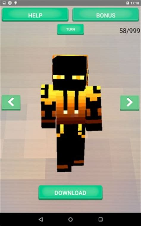 mcpe free android skins for mcpe for android by appscreatgames