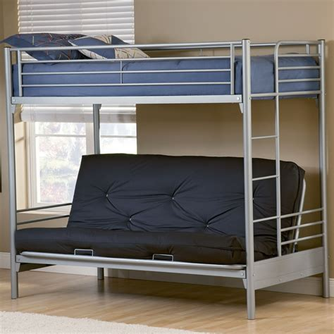 bunk bed with mattress included futon with mattress included