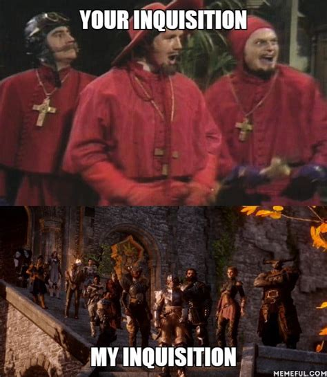Spanish Inquisition Meme - so spanish inquisition memes are a thing again i wasn t expecting that 9gag