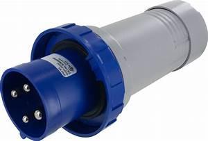 460p9w Pin And Sleeve Plug 60 Amp