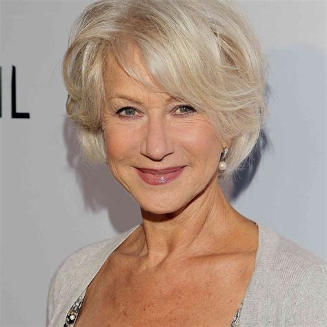 Short Hairstyles For Seniors Hair Color Ideas and Styles