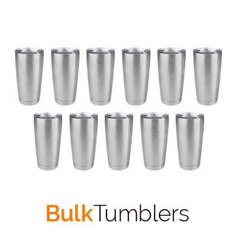 stainless steel insulated tumblers   case tagged  oz wine bulk tumblers