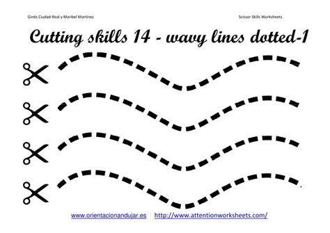 cutting worksheets for preschoolers motor skills