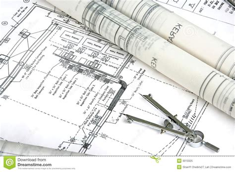 house plan builder engineering design and drawing stock image image 3013325