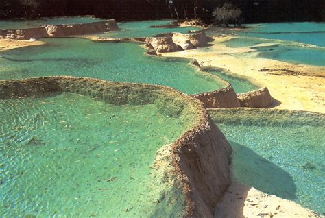 The limestone basins at Huanglong China | Travel And Tourism