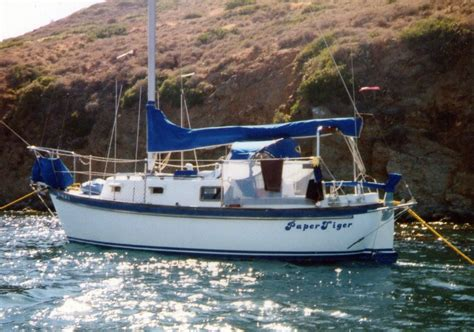 Boat Fuel Prices Vancouver by 1986 Vancouver 25 Sloop Sail Boat For Sale Www