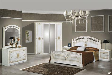 chambre a coucher blanc janeiro laque blanc et dore ensemble chambre a coucher lignemeuble com