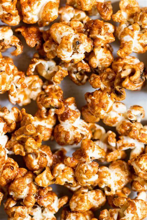 Miso maple vegan popcorn   Lazy Cat Kitchen