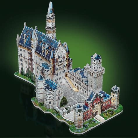 Puzzle Le Anleitung Wrebbit Puzzle 3d Nos Produits Château De Neuschwanstein
