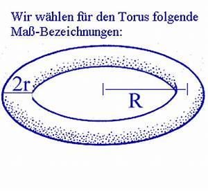 Rauminhalte Berechnen : torus ~ Themetempest.com Abrechnung