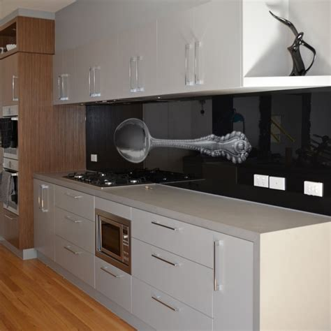 custom creative kitchen glass splashbacks coloured