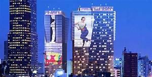 Sonny Bill Design Animated Digital Billboards Led Blade Runner Style Ads In La