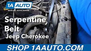 How To Replace Install Serpentine Belt 1996