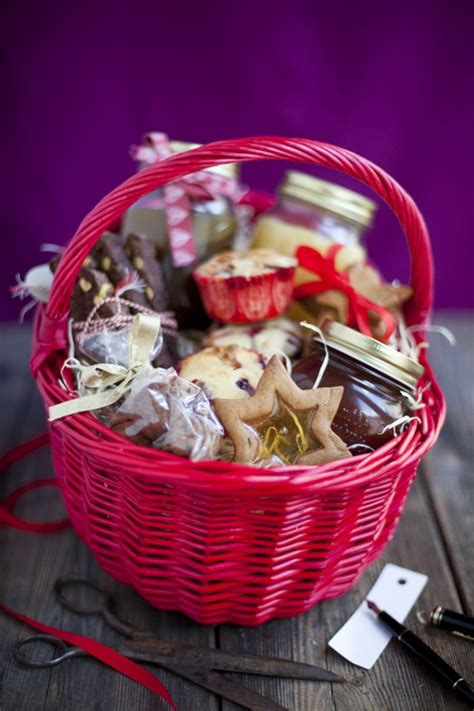 traditional christmas gift basket idea family holiday