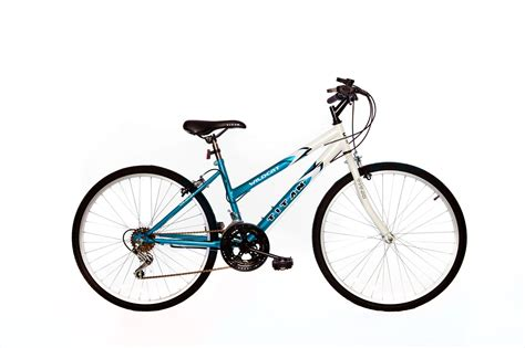 wildcat ladies mountain bike white teal blue in my opinion